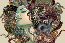 Medusa / Enchanting, yet terrifying. / by E.B. Black