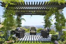 Front Patio Ideas / Someday, for our front patio area. / by Alice Daer