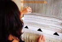 Tissages * Weaving * Macramé... / by Carina DaMota