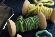 thread & fiber / by Jennifer Stabnick