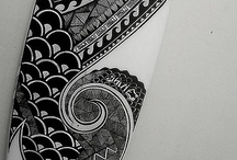 Rad Surfboard Art / by T&C Surf