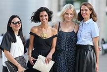 Fashion Week Street Style / Street style during Fashion Week with an emphasis on jewelry and accessories / by Neda Norbash