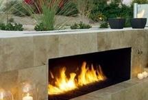 Inspiring Fireplaces / by Karen Bowen