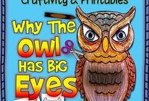 Owls- for my 2nd graders / by Laura McQuigg