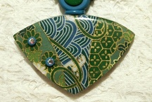 Creative Polymer Jewelry / So many talented Polymer Clay artists. / by Karen Bowen