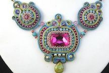 Creative Soutache Jewelry / Soutache is often called Russian Braid or passementerie. It  is so intricate.  The polymer versions are inspired by the real thing, but there is no comparison.  / by Karen Bowen