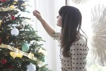 The Holidays Aglow / A few of our favorite bloggers bedecked their homes in our Holiday Collection. Check out the great holiday moments they created, then vote for your favorite for a chance to win a $1K Serena & Lily Shopping Spree: http://bit.ly/1fdsBLi / by Serena &  Lily