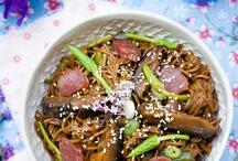 Recipes - Asian/Asian Inspired Mains / by Emily V