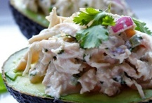 Salad Sustenance / Mostly chicken salad with a few others tossed in... / by Joan Landes