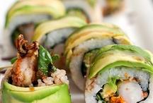 Recipes - Sushi and Raw Fish / by Emily V