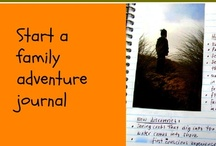 Journaling ~ for the Entire Family / Ideas that inspire journaling and writing about family, nature, life, and everything in between {for kids and adults}. / by Gina Kimmel
