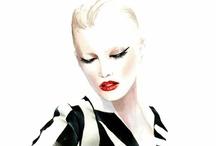:: Fashion sketches :: / by .KIM.