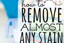 Cleaning Tips / by Staci Washington