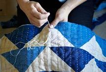 sewing/quilting / by Meg Fahrenbach