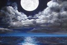 BY THE LIGHT OF THE MOON / by Patty Hoffert