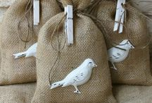 B U R L A P ... / Something so homey about burlap... / by Janet Copeland