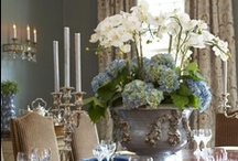 C E N T E R P I E C E ... / Flowers to complete your table setting... / by Janet Copeland