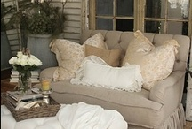 Cozy Comfort / Window seats, pillows, & more / by Cindy Johnson