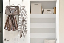Residential Design: Laundry Rooms, Closets and Storage Solutions / by Holly Murdock