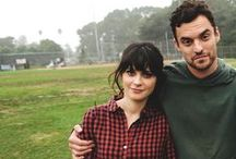 New Girl ♥ / Everything from my favorite show, New Girl. Zooey Deschanel. Jessica Day. Jake Johnson. Nick Miller. Schmidt. Max Greenfield. Winston. Coach. Cece.  / by Crystal Nichols
