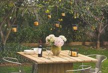In the garden / by Tahnee Mills