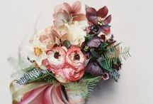 f l o w e r   p o w e r / flowers, bouquets, wedding inspiration / by Love and Anchor Cinematography