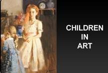 ART - CHILDREN IN ART / by RedSeaCoral
