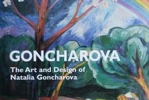 ART - Goncharova, Natalie / Natalia Sergeevna Goncharova (; June 16, 1881 - October 17, 1962) was a Russian avant-garde artist (Cubo-Futurism), painter, costume designer, writer, illustrator, and set designer. Her great-aunt was Natalia Pushkina, wife of the poet Alexander Pushkin. / by RedSeaCoral