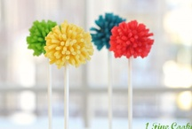 Cake Pops!  / Cake Pops may have jumped the shark a few years ago, but I've just discovered how to make them. Now I'd like to make a career of it. Or something.  / by Laura Willard