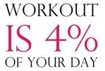 Workouts / by Kaylee Schoenfelder