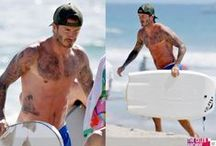 Beach sights / The best male celebrities captured on the beach!  / by the Celeb Archive