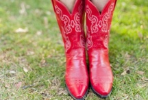 Cowboy Boots / LOVE me cowboy boots!! / by Marla Meridith