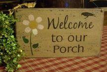 Porches / by Dreama Davis