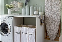 Decorating Ideas: Laundry room / by Eva Jansen Bromfield