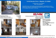 Magalia Property Listings / House Listings in Magalia California, Property flyers with complete housing payment information  / by Access Real Estate Lending