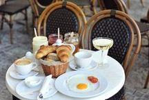 Oui oui... Champagne, macaroons, and raspberry berets / Paris / by Jennifer Stuart