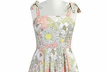 Spring  / #Vintage inspired women's clothing, #1950s and #1960s #fashion, updated in #retro #modern #style clothing.  #Spring #Dresses.   Available in all sizes 0-36W & Custom.   Only at eShakti.com / by eShakti.com