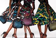 ♛ AFRICAN Contemporary ♛ & other Cultural inspired print fashions  / Inspirational textile art - style - with color, tones, prints, & patterns along with accessories - men/women fashions / by Madam Ambassador ♛