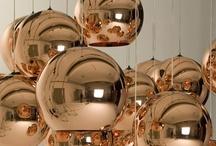 LUMINÁRIAS / LAMPS / by Celene Gurgel