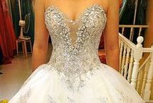 MY BIG FAT BLINGED OUT WEDDING❤ / BLINGY OVER THE TOP WEDDINGS... / by ❤ Babette ❤