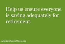 Saving for Retirement / by America Saves