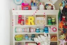 Sewing and Craft Studio Inspiration / by The Cottage Mama - {Lindsay Wilkes}
