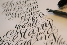 Lettering + Design / by Christine S. Collins / Wood & Grain