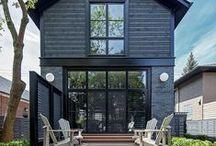 "e x t e r i o r s / ""We shape our homes and then our homes shape us."" / by Reimagine Designs // Mallory Lennon"