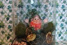 St Patricks  / St Patricks Day, Irish, Green, Luck, pot of gold, rainbows, shamrocks, Leprechauns / by Missy Bowen