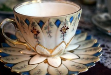 Tea Time / I love to collect cups and saucers, so it only makes since that I do the same here. / by Lori Romano
