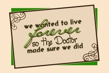Doctor Who <3 / by Charlotte Davis