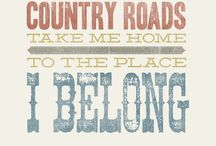 country roads  / by Ashley Ball