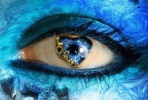 It's all in the Eyes....... / eye shadows / by Sharon Cupelli
