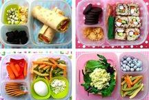 """School Lunch Fun / We need to keep the environment and the health of our little ones in mind while preparing to go back to school. It can be a challenge to outfit our kids with supplies and healthy foods for another year of learning without polluting our planet in the process. Become inspired and create your own """"Happy Healthy Back to School"""" board and you could win some amazing prizes from us. Go HERE for details on our latest Pinterest contest ------> http://bit.ly/15Fhktk / by Happy Family Organic Superfoods"""